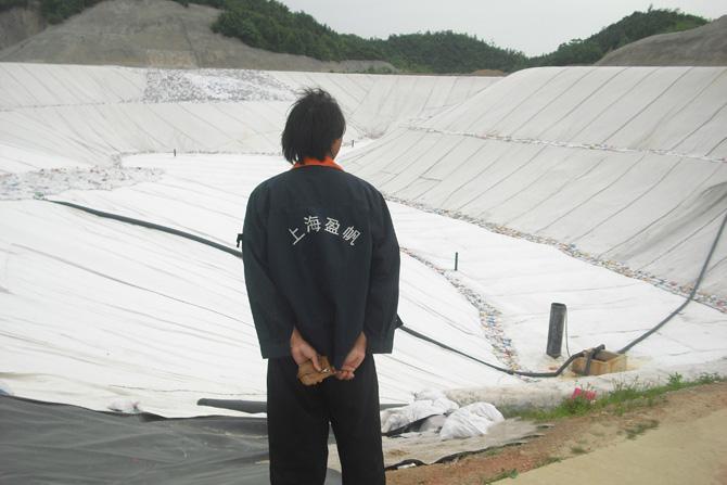 土工膜在垃圾填埋场中的应用