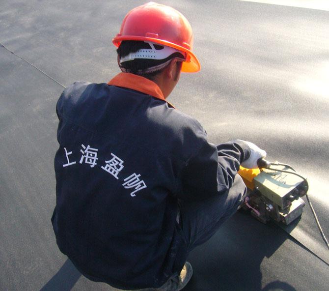 HDPE土工膜焊接